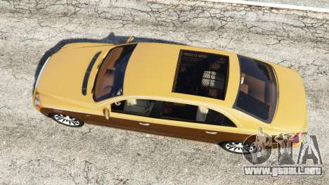 GTA 5 Maybach 62 S vista trasera
