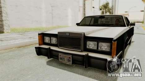 GTA 5 Dundreary Virgo SA Lights para la visión correcta GTA San Andreas