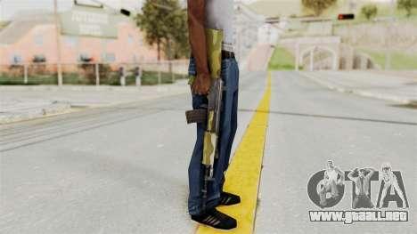 IOFB INSAS Camo v1 para GTA San Andreas tercera pantalla