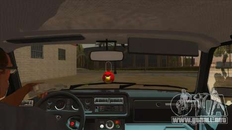 VAZ 2107 RUSIA para visión interna GTA San Andreas