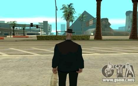 La cigüeña para GTA San Andreas segunda pantalla