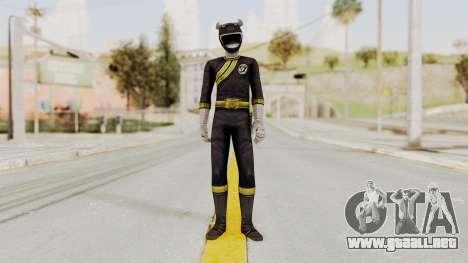 Power Rangers Wild Force - Black para GTA San Andreas segunda pantalla