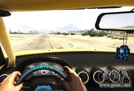 GTA 5 Nissan Silvia S15 Vertex vista trasera