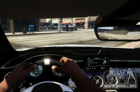 GTA 5 Mercedes-Benz CLA 45 AMG Shooting Brake vista lateral trasera derecha