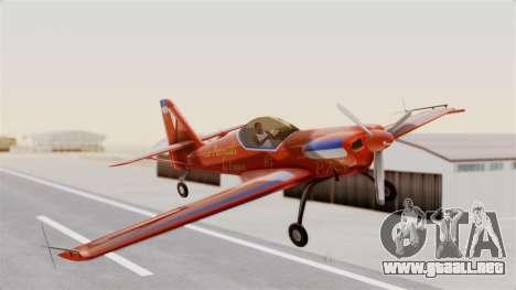 Zlin Z-50 LS v3 para GTA San Andreas vista posterior izquierda