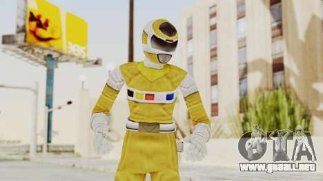 Power Rangers In Space - Yellow para GTA San Andreas