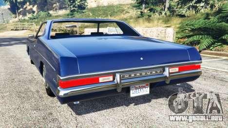 GTA 5 Mercury Monterey 1972 vista lateral izquierda trasera