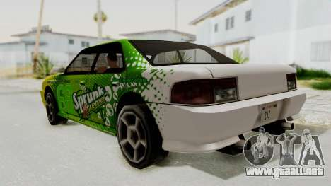 Sprunk Sultan para GTA San Andreas left