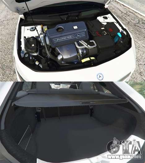 GTA 5 Mercedes-Benz CLA 45 AMG [HSR Wheels] vista lateral derecha