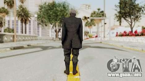 MGSV Phantom Pain SKULLFACE No Hat para GTA San Andreas tercera pantalla
