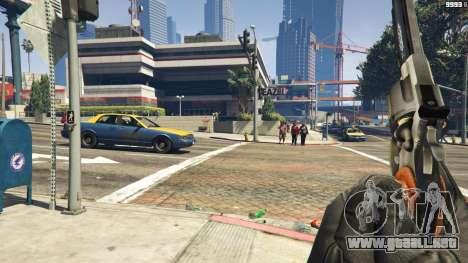 GTA 5 Python .357 Magnum CT6 tercera captura de pantalla