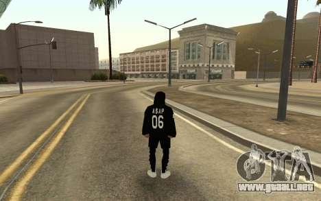 Sin hogar v4 para GTA San Andreas segunda pantalla