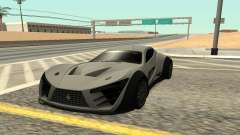 Felino CB7 para GTA San Andreas