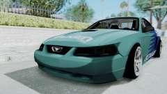 Ford Mustang 1999 Drift Falken para GTA San Andreas
