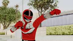 Power Rangers Time Force - Red