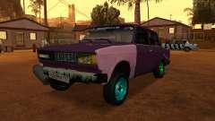 VAZ 2105 gris para GTA San Andreas