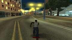 El indicador de funcionamiento de forma rápida para GTA San Andreas