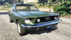 Ford Mustang 1968 para GTA 5