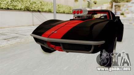 Chevrolet Corvette Stingray C3 1968 Drag para GTA San Andreas