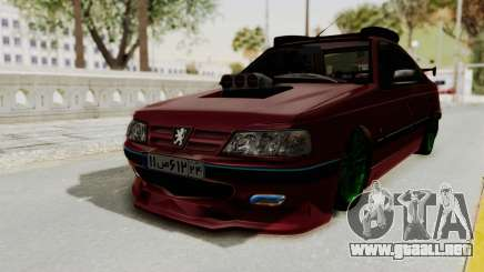 Peugeot Pars Sport para GTA San Andreas