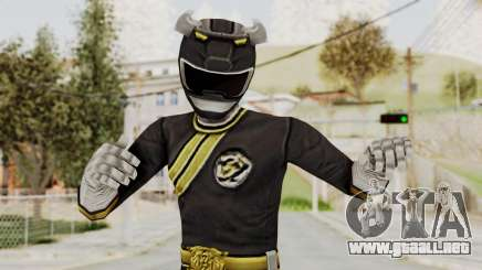 Power Rangers Wild Force - Black para GTA San Andreas