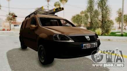 Dacia Logan MCV Van para GTA San Andreas