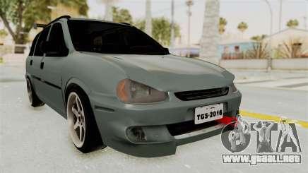 Chevrolet Corsa Wagon Tuning para GTA San Andreas