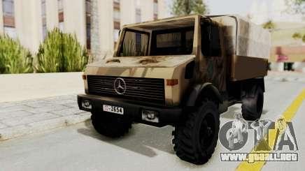 Mercedes-Benz Vojno Vozilo para GTA San Andreas
