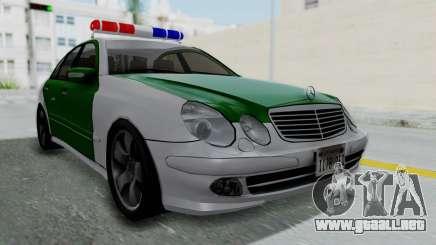 Mercedes-Benz E500 Police para GTA San Andreas
