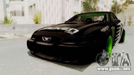 Ford Mustang 1999 Drift Monster Energy Falken para GTA San Andreas