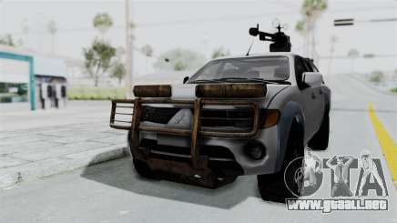 Mitsubishi L200 Army Libyan para GTA San Andreas