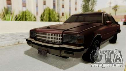 Chevrolet Caprice 1987 v1.0 para GTA San Andreas