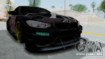 BMW M4 Kurumi Itasha para GTA San Andreas