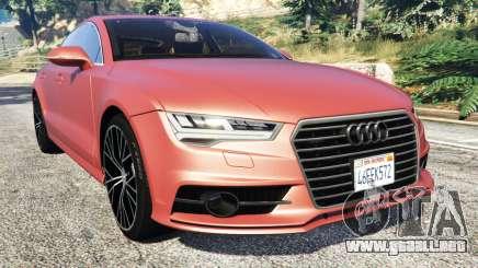 Audi A7 2015 para GTA 5