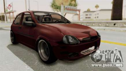 Chevrolet Corsa Hatchback Tuning v1 para GTA San Andreas