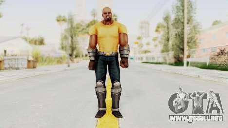 Marvel Future Fight - Luke Cage para GTA San Andreas segunda pantalla