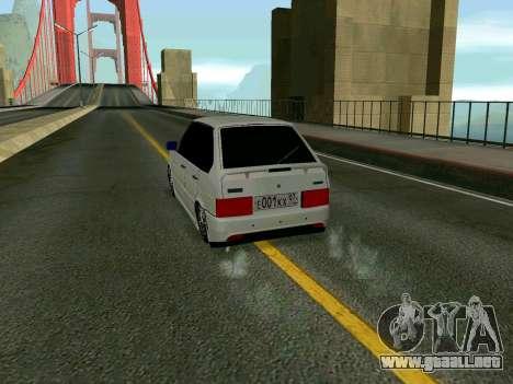 VAZ 2114 KBR para la visión correcta GTA San Andreas