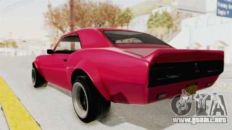 Chevrolet Camaro SS 1968 para la visión correcta GTA San Andreas