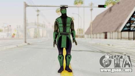 Mortal Kombat X Klassic Reptile para GTA San Andreas segunda pantalla