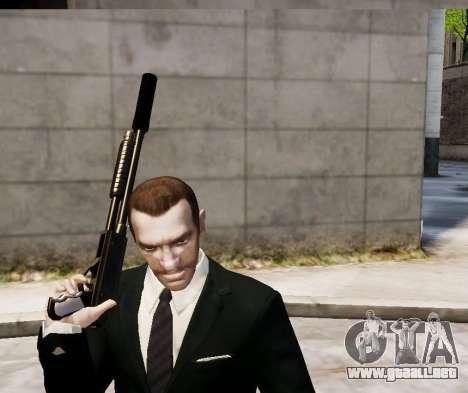 El silenciador del arma para GTA 4