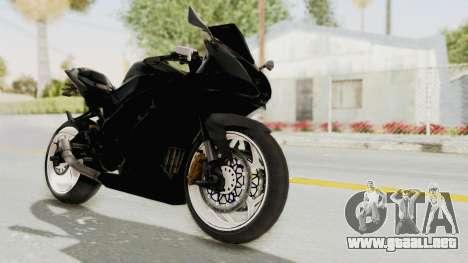 Kawasaki Ninja 250RR Mono Sport para la visión correcta GTA San Andreas