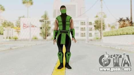Mortal Kombat X Klassic Human Reptile para GTA San Andreas segunda pantalla