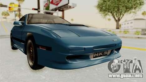 Mazda RX-7 FC3S para la visión correcta GTA San Andreas