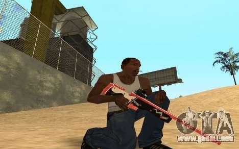 Rifle Cyrex para GTA San Andreas