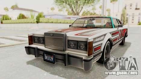GTA 5 Dundreary Virgo Classic Custom v2 para vista lateral GTA San Andreas