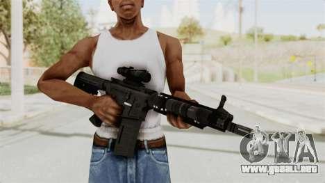 M4A1 SWAT para GTA San Andreas tercera pantalla