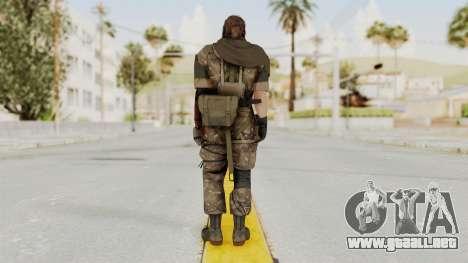 MGSV The Phantom Pain Venom Snake Scarf v9 para GTA San Andreas tercera pantalla