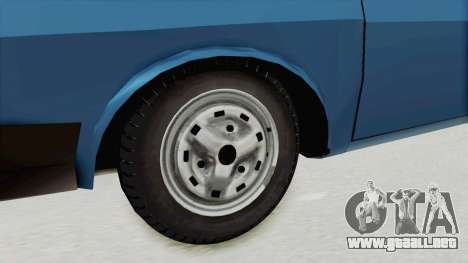 Dacia 1310 MLS 1988 Stock para GTA San Andreas vista hacia atrás