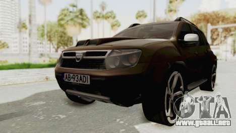 Dacia Duster 2010 Tuning para GTA San Andreas