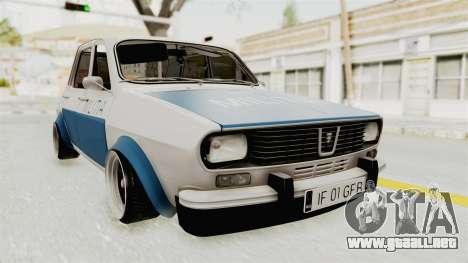 Dacia 1300 Stance Police para GTA San Andreas